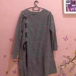 Sweater panjang grey