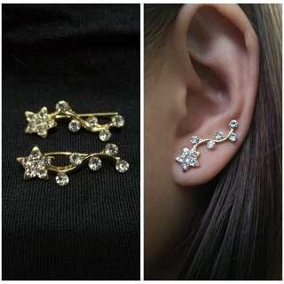 Ear cuff fashion earrings