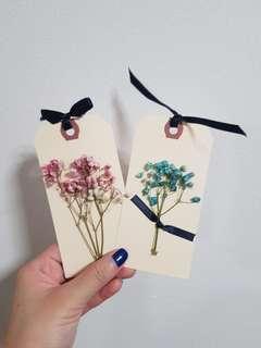 🚚 [INSTOCK] Baby breath Bookmarks