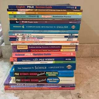 Primary 6 assorted assessment books