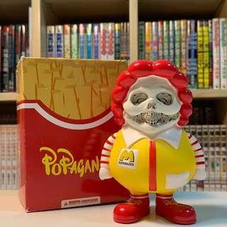 Popaganda McSupersized blind box 麥當勞叔叔 盲盒 by Ron English