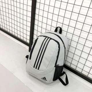 New CNY Sales Adidas backpack & gym bag grey new stock
