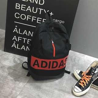 New CNY Sales Adidas bag Big Name  - black New Arrival