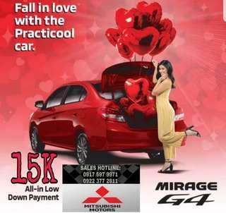 Mirage G4 GLX MT @15k cashout