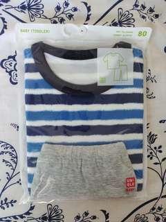 BNWT Uniqlo Shirt + Pajama Set