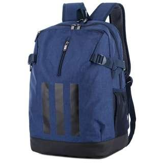 New CNY Sales Adidas backpack double shoulder bag - Blue New Sports Bag