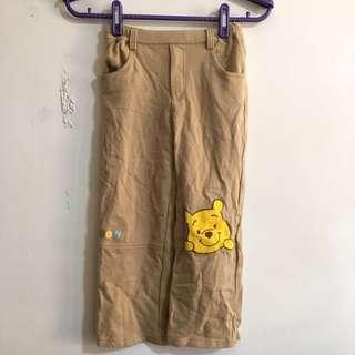 🚚 (3件100)Disney 六歲兒童小熊維尼長褲 Pooh pants for kid 6 yrs(3 items$100)