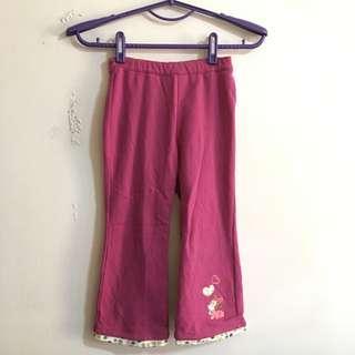 🚚 (3件100)Disney 女童紫色長褲 purple pants for kid size (3 items$100)