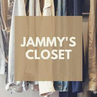 WELCOME TO JAMMY'S CLOSET! Happy Shopping! 🌻
