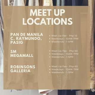 Meetup Locations
