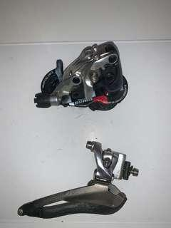 Sram red 10 sp FD/RD