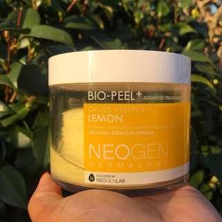 ( FREE ONGKIR ) NEOGEN Bio Peel Gauze Peeling LEMON