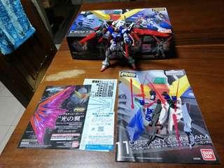 Destiny Gundam RG 1/144 BANDAI Authentic