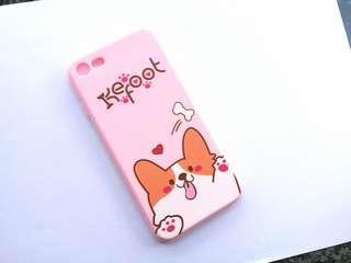 全新 豬年換新殼 iPhone case 7 / 8 柯基 卡通 浮雕手機殼/電話殼 $75➡️$40/1 (只有1個)