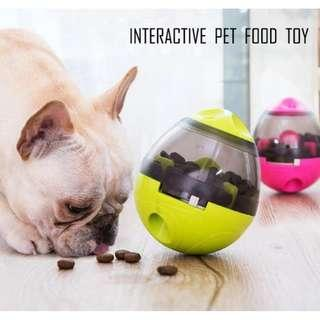 🚚 Pet Food Feeding Tumbler Toy # 100% Authentic #Bite resistance #Safe Material #Non toxic #Interactive #IQ improve #Intelligence