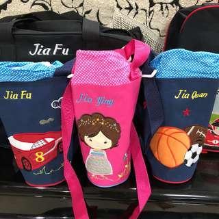 🚚 New customised cover bottle holder personalised bag school