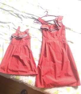 Mother-Daughter Matching Dresses