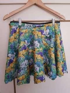 Lashes of London Scalloped Floral Skirt Sz 12