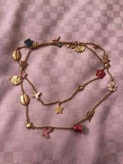 Disney Couture Tinkle Bell Necklace 迪士尼長頸鏈