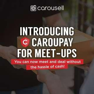 Introducing: CarouPay for Meet-ups!