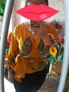 Atasan kimono fit to XL LD muat 100