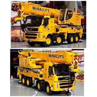 "全新 WSI 金屬 1/50 LIEBHERR LTF1060 富豪 車底 吊臂 起重機 Mobile Crane ""Mc Nally's"""