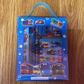 Tayo bus wallet set