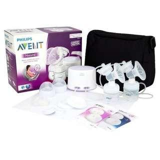 🚚 Philips Avent Double Electric Breast Pump