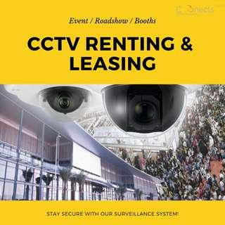 CCTV Camera Rental & Leasing Services