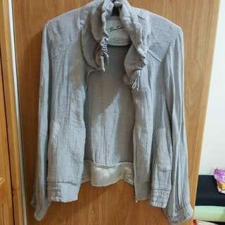 💗Bear2專櫃灰色薄外套
