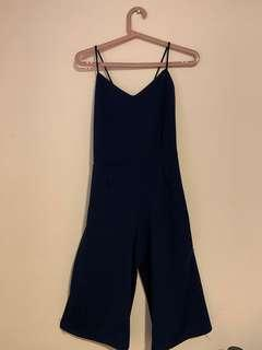 royal blue romper
