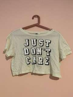 just don't care top