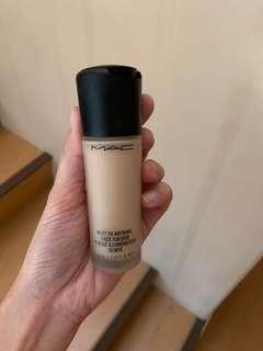 MAC Next to Nothing Face Colour (Light Plus) Foundation
