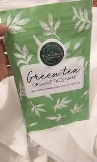 Crushlicious Organic Face Mask - Greentea