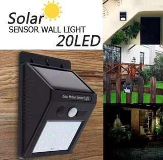 LED Solar Lights Outdoor, 3 Optional Modes Wireless Motion Sensor Light with 270° Wide Angle, IP65 Waterproof, Easy-to-Install Security Lights for Front Door, Yard, Garage, Deck, Porch
