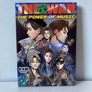 EXO 4th Repackage Album 'The War: The Power of Music'