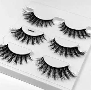 3D Real Mink Lashes -3pk