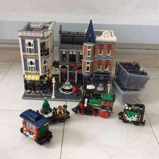 🚚 Bundle: Assembly Square and Christmas Train