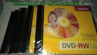 🚚 useful new DVD rw(5 pieces)