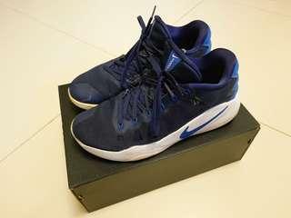 Nike Hyperdunk 2016 Low basketball shoe - blue/white