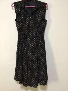 🚚 Polka dot dress (floral)