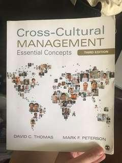 🚚 Cross-Cultural Management Textbook