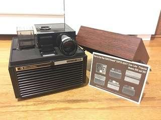 Bell & Howell Slide Cube Projector 986
