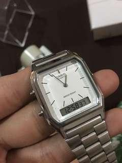 Casio Classic Vintage Watch Silver