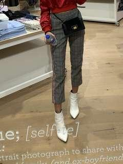 Pants with side stripe