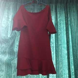 Nichii Off Shoulder Dress