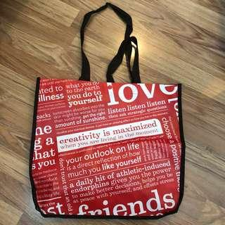 Lululemon eco bag red big