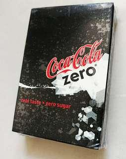 Coca Cola Zero  playing cards 可樂零系啤牌香港限量 (exclusive to Hong Kong only)