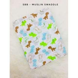 MUSLIN SWADDLE (120cm x 120cm)