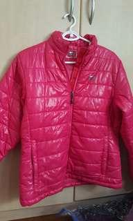 Polyester winter jacket